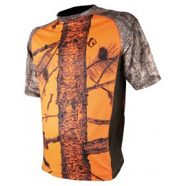 Tee Shirt Enfant camo Orange 3DX Somlys